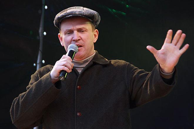 Виктор Рыбин на сцене