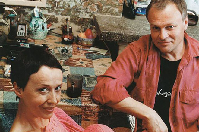 Александр Соловьев и Ирина Печерникова