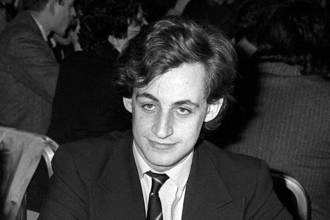 Николя Саркози в молодости