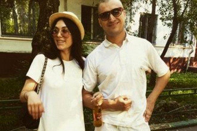 Паша Техник и его жена Ева Карицкая