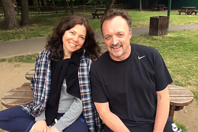 Виктор Гусев и его жена
