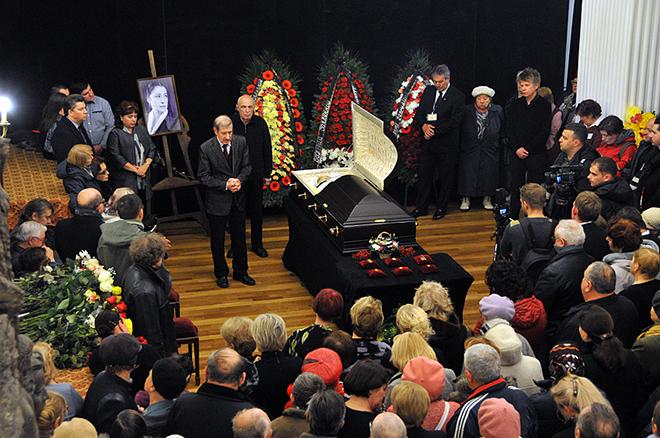 Валерия Заклунная похороны