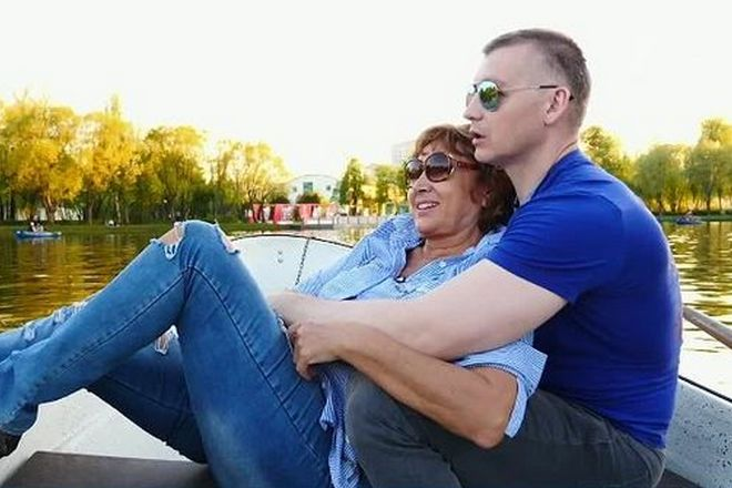 Максим Артамонов и Лариса Копенкина