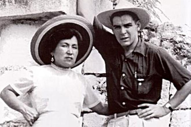 Че Гевара с первой женой Ильдой