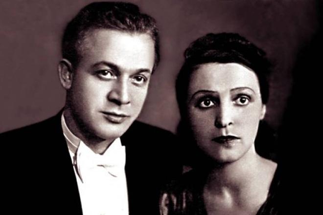 Сергей Лемешев с женой Ириной Масленниковой