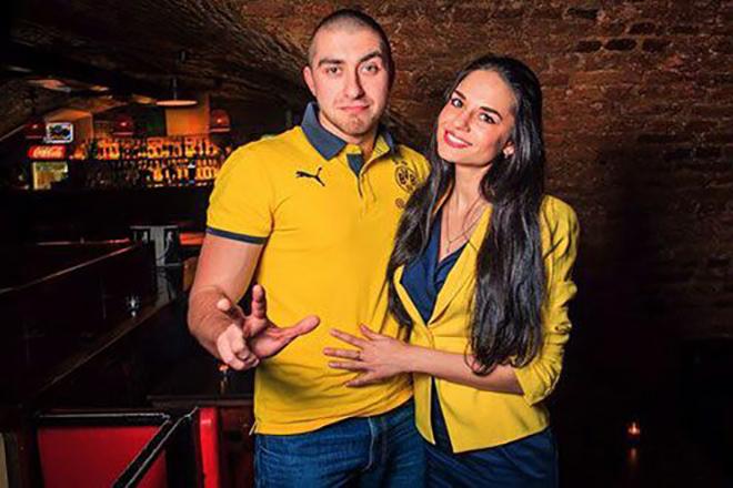 Гарри Топор с женой Натальей