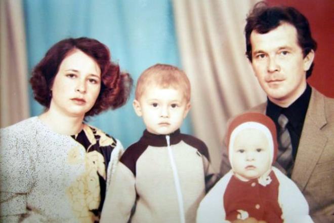 Эльмира Калимуллина в детстве