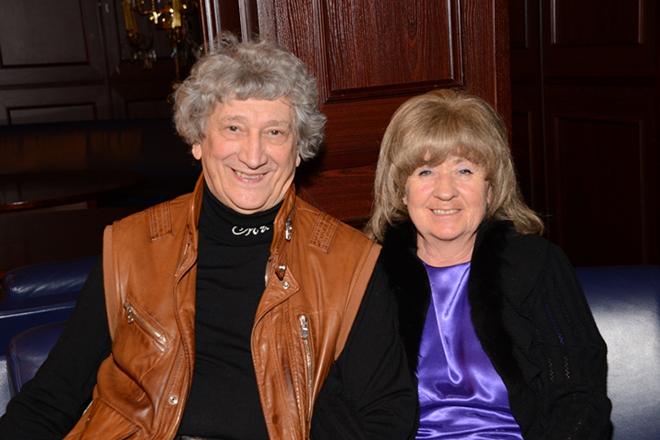 Юрий Энтин с женой