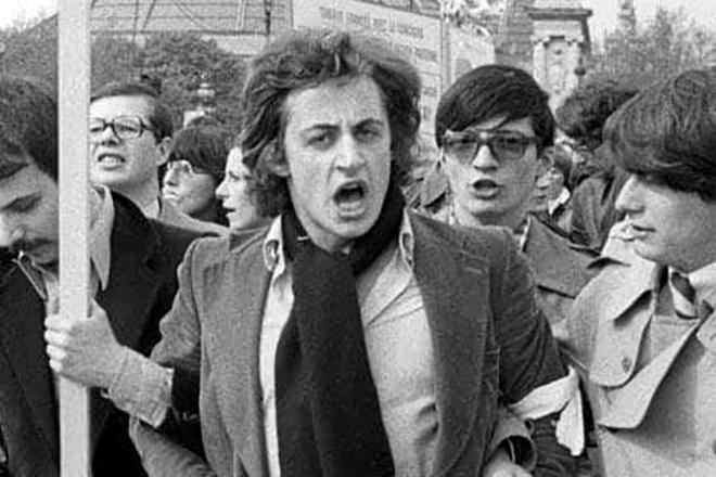 Начинающий политик Николя Саркози