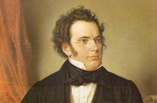 Портрет Франца Шуберта
