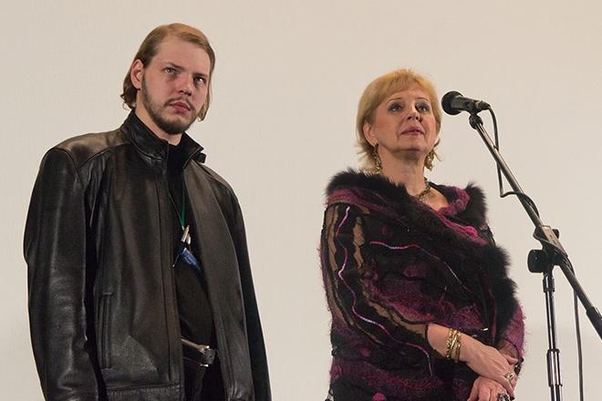 Татьяна Ташкова с сыном Алексеем