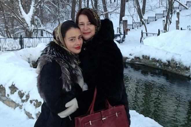 Эльмира Калимуллина с мамой