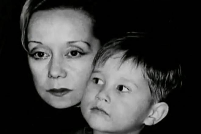 Евдокия Германова с приемным сыном