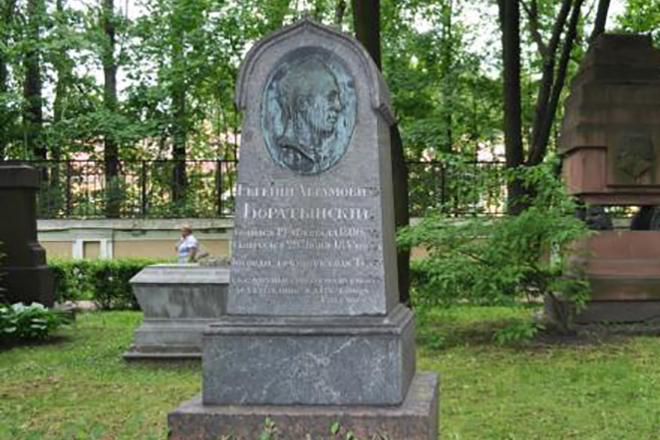 Могила Евгения Баратынского