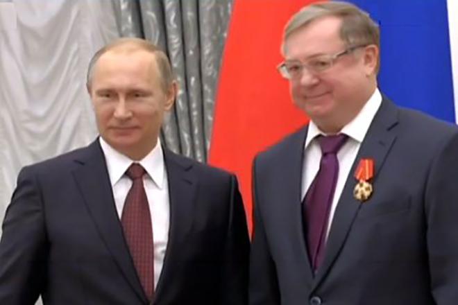 Сергей Степашин и Владимир Путин