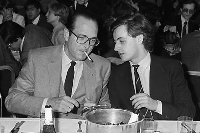 Николя Саркози и Жак Ширак