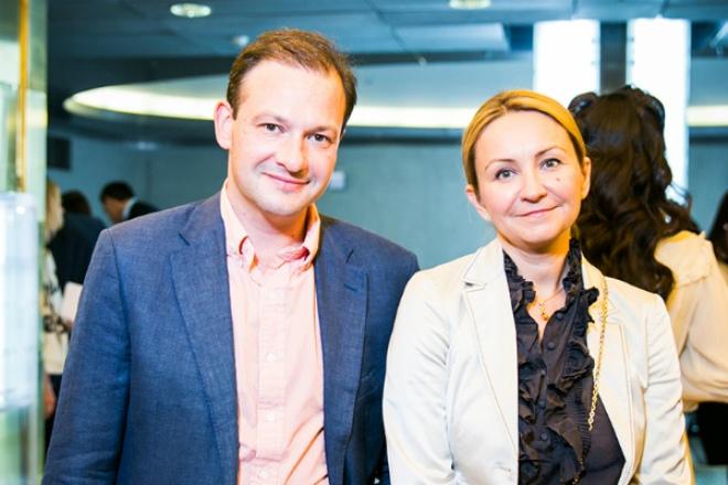 Сергей Брилёв с женой