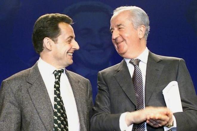 Николя Саркози и Эдуард Балладюр