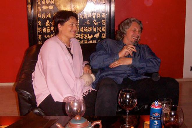Владимир Сорокин с женой