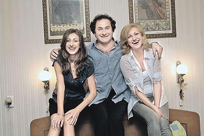 Семен Стругачев и его семья