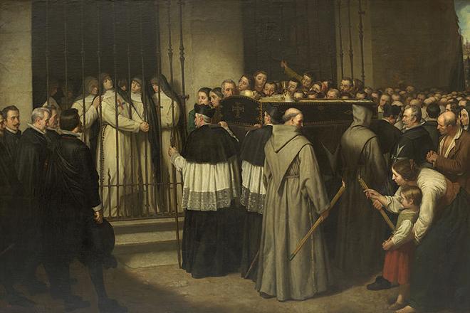 Похороны Лопе де Веги