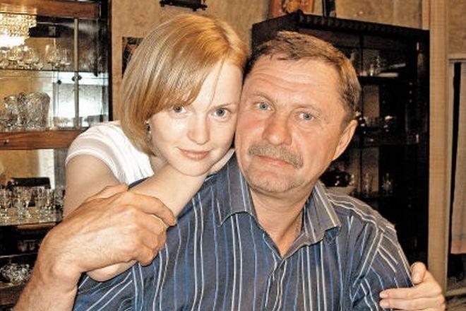 Юлия Вайшнур с отцом