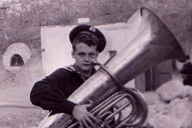 Андрей Косинский в молодости
