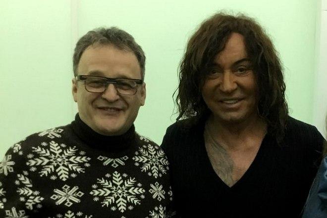 Андрей Косинский и Валерий Леонтьев