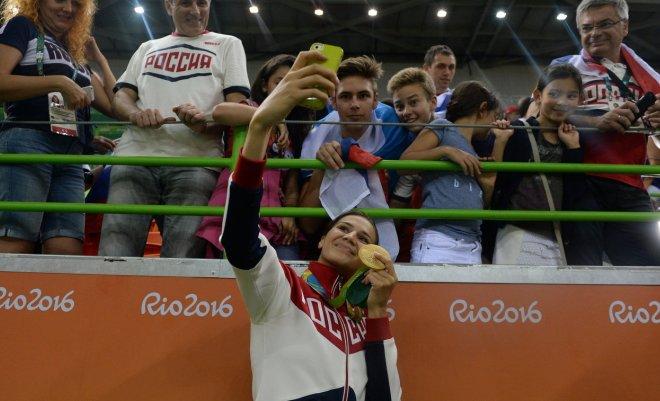 Екатерина Ильина на ОИ в Рио