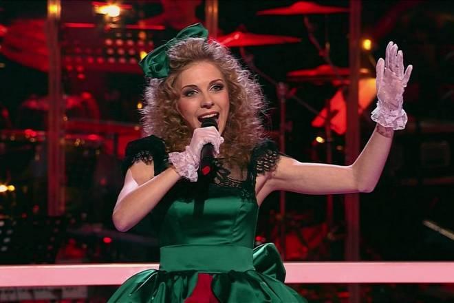Светлана Феодулова на сцене