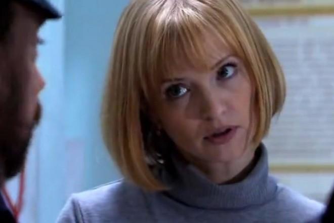 Юлия Вайшнур в сериале «Москва. Три вокзала»