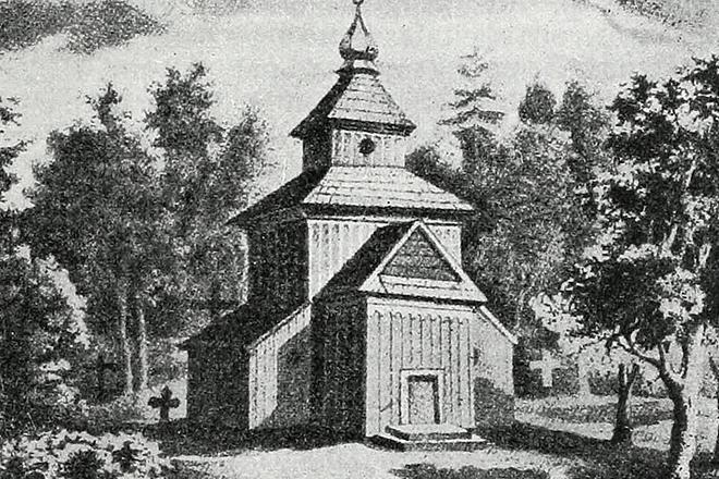 Место захоронения Андрея Курбского