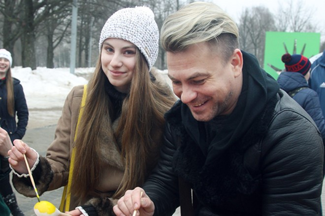 Павел Соколов и его дочь Алина