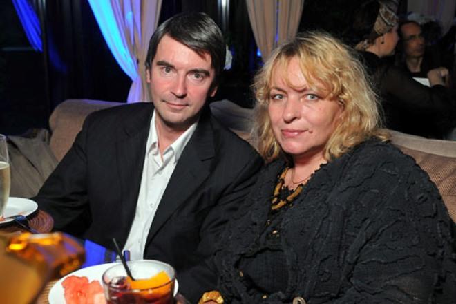 Сергей Шолохов с женой