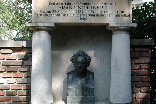 Могила Франца Шуберта