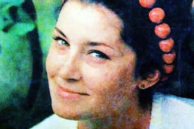 Валерия Заклунная в молодости