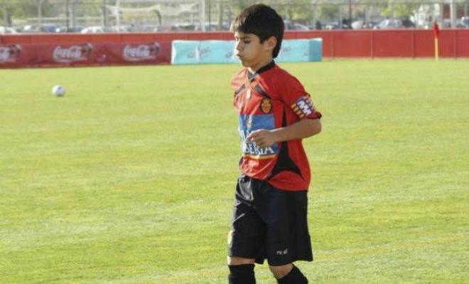 Марко Асенсио в детстве