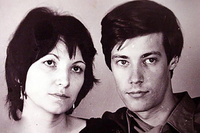 Владимир Конкин и его жена