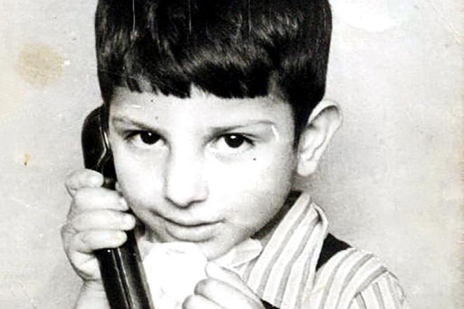 Ефрем Амирамов в детстве