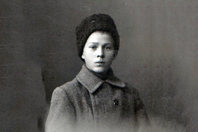 Аркадий Гайдар в детстве