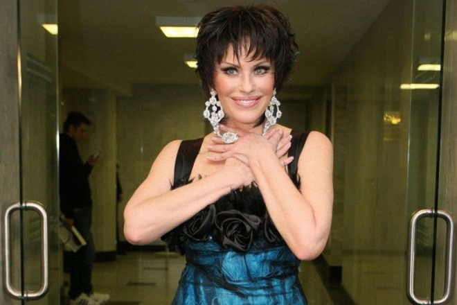 Певица Ирина Понаровская