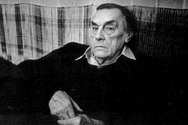 Поэт Арсений Тарковский