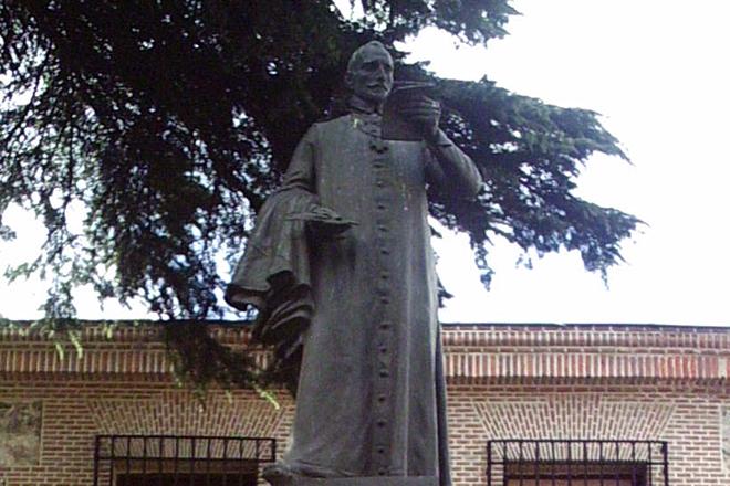 Памятник Лопе де Веге в Мадриде