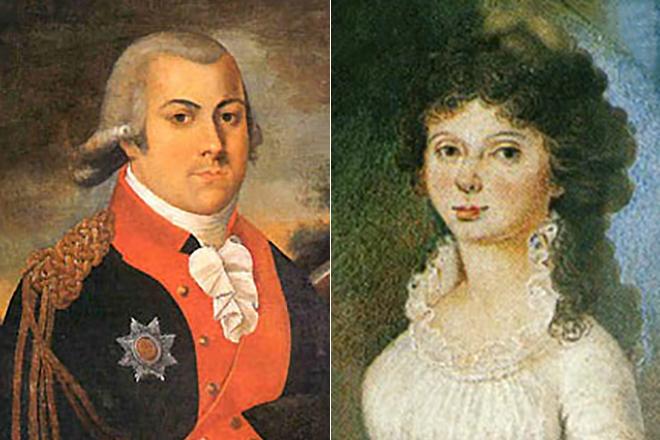 Родители Евгения Баратынского