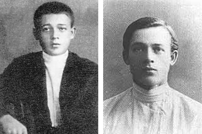 Сергей Лемешев в детстве