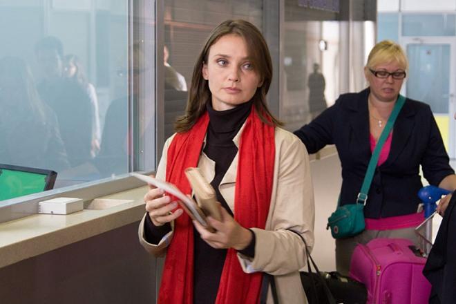 Юлия Жигалина в фильме «Беги, не оглядывайся!»