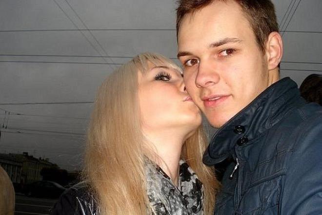 Сергей Рыченков с девушкой