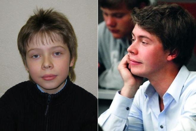 Сын Дмитрия Медведева в детстве и сейчас