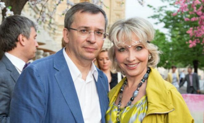Маргарита Королева с мужем