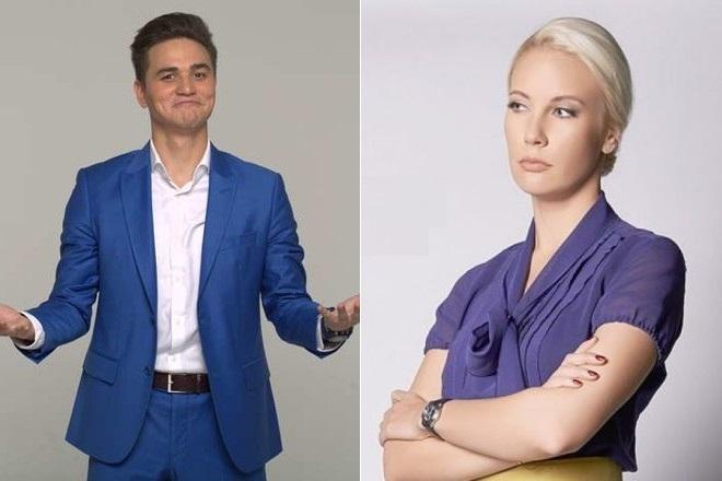 Александр Молочко и Елена Летучая